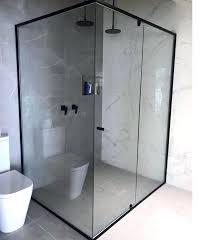 shower screens semi black shower screen parts bunnings