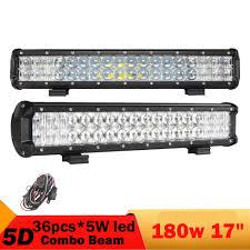 aliexpress com 2 pcs 180w 5d led light bar for jeep renegade jeep patriot 18inch 4wd 4x4 truck boat wagon pickup atv driving headlight fog lamp from