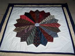 Best 25+ Necktie quilt ideas on Pinterest   Tie quilt, Dresden ... & You have to see Dresden Necktie Quilt by BobbiSpain! Adamdwight.com
