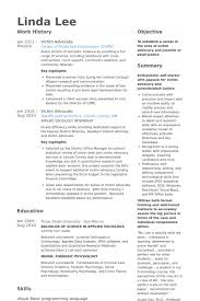 Victim Advocate Resume samples