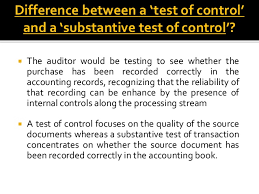 internal controls in auditing 14