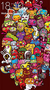 doodle art live wallpaper for android doodle art free for tablet and phone
