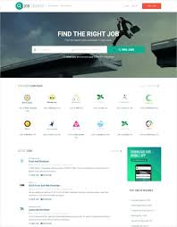 Consultancy Template Free Download Free Job Website Template