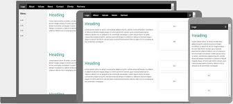 Page Design Templates Responsive Web Design Templates