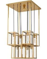 eichholtz owen lantern traditional pendant lighting. Gold Chandelier, Eichholtz Ferguson, Gold, Owen Lantern Traditional Pendant Lighting