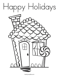Small Picture Happy Holidays Coloring Pages Coloring Home