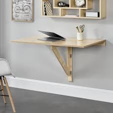 Encasa Klappbarer Schreibtisch Wandtisch Tisch Wand Klapptisch Aus