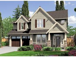 craftsman 2 story house plans wall exterior