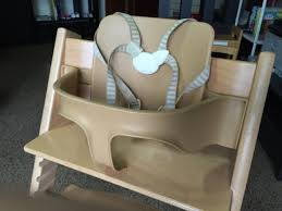stokke tripp trapp baby seat harness and cushion