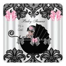 Zebra Baby Girl Shower InvitationsPink Zebra Baby Shower Invitations