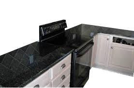 Amazoncom Faux Black Granite Marble Look To Update Countertop