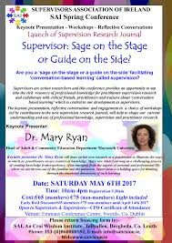 welcome to our sai website the supervisors association of sage of stage guide on the side poster 2 image