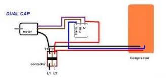 similiar fan motor capacitor wiring keywords condenser fan motor wiring diagram for