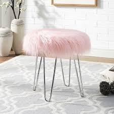 metal vanity stool. Modren Metal BUY IT Intended Metal Vanity Stool