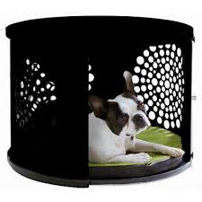 DenHaus BowHaus Modern End Table Dog Crate Furniture – Pet Pro