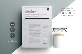 Resume Template Resume Template 100 Page CV Template Resume Templates Creative 88