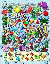 here s another i spy activity for your kids this is the full edition of my i spy activities it es with the colored game poster