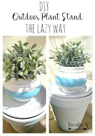 outdoor plant stand ideas outdoor plant stand the lazy way diy outdoor plant stand plans outdoor plant stand