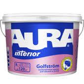 Особопрочная влагостойкая <b>краска</b> для ванной и кухни <b>Aura</b> ...