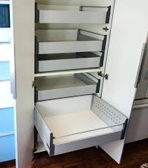 pantry cabinet with pull out storage drawers e rack ikea