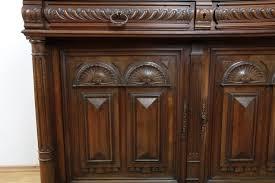 Esszimmer Nussbaum Antik Antik Paar Stühle Restauriert