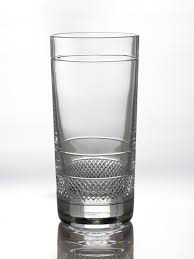 crystal glass tumbler sunday single