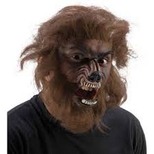 werewold fx kit latex face prosthetics hair adhesive and makeup