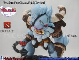 barathrum spirit breaker sculpture from dota 2 by hideoki on
