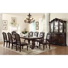 kiera 7 piece dining set in rich brown nebraska furniture mart