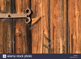 Hinge on barn door at Black Creek Pioneer Village in Toronto ...