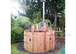 wonderful barrel hot tub spa backyard cedar wood barrel hot tub round outdoor tub sot diy