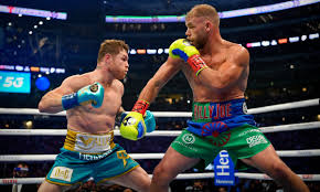 Canelo Álvarez stops Billy Joe Saunders to unify titles before vast crowd  in Texas | Boxing