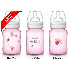Avent Decorated Bottles Philips Avent Special Edition Classic Plus Bottle 100oz100ml Pink 26