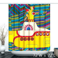 bright colored shower curtains bright colorful children cartoon yellow submarine shower curtain bright shower curtains bathrooms bright colored shower