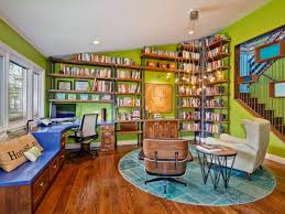 eclectic home office alison. Vibrant Home Office Eclectic Alison I
