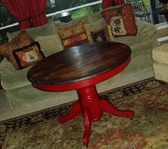 faux painting furniture rustic burnished red pedestal table red coffee snake red coffee deviantart