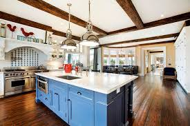 Small Picture 25 Blue and White Kitchens Design Ideas Designing Idea