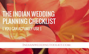 The Indian Wedding Planning Checklist You Can Actually Use