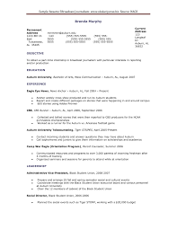 Ultimate Mass Communication Resume for Your Resume Resume format for Mass  Munication Student with Regard