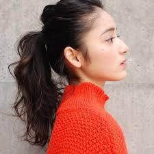 女性のオールバックのヘアアレンジ16選前髪なしのセットのやり方は