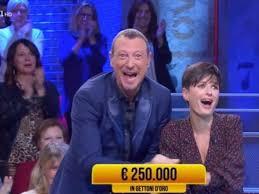 I Soliti Ignoti, la concorrente Caterina vince 250mila euro ...
