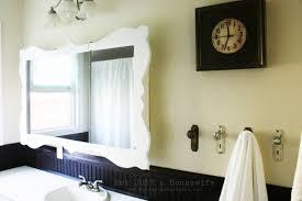 Hanging A Bathroom Mirror With Frame hanging a bathroom mirror