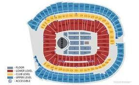 Notre Dame Stadium Seating Chart Garth Brooks Garth Brooks Concert Tickets 50 00 Picclick