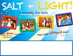 Salt And Light Poster Salt Light Runyeon Productions