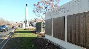 ... Christmas Tree Shop Danbury Ct Number by Wall Honoring Vets Marred By  Misspellings Omissions In Meriden ...
