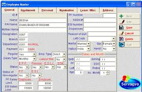 Payroll Free Software Download Excel Servagya Payroll Software Complete Payroll With Pf Esi