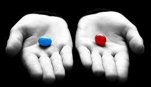Resultado de imagen de imágenes de matrix pastilla roja pastilla azul