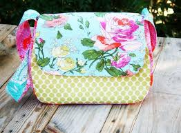 Messenger Bag Pattern Best Sew A Mini Messenger Bag PDF Pattern PatternPile Sew