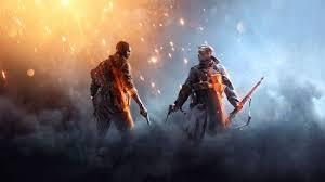 Wallpaper Battlefield 1 Ea Dice Shooter Games