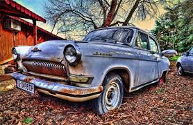 hdr photography car. Volga Car HDR For Hdr Photography